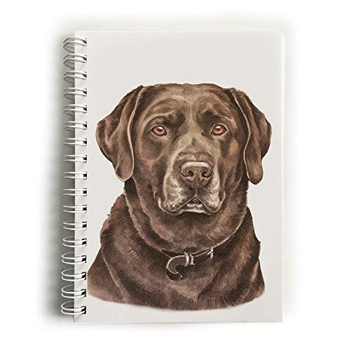 Chocolade Labrador Hond Notebook (NBK-105)