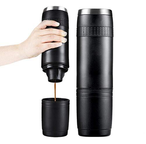 GJJSZ Elektrische Vollautomatische Handstanzkaffeemaschine Kapsel Kaffee Extraktions Tasse Tragbare Kaffeemaschine Mini