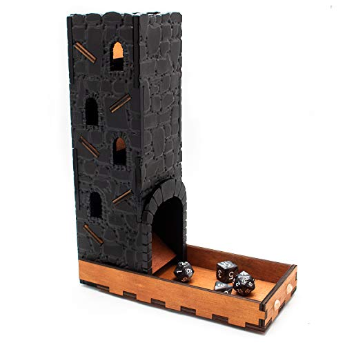 Torre de dados de piedra de dragón por C4Labs