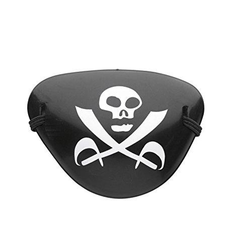 Widmann Augenklappe aus Kunststoff Pirat