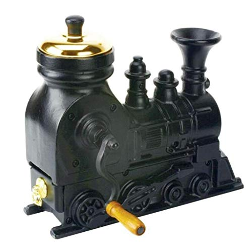 Check Out This Hand Coffee Grinder – Manual Locomotive Coffee Bean Grinder Creative Decoration Household/Travel/Office/Kitchen