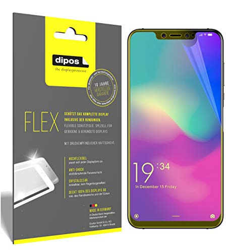 Preisvergleich Produktbild dipos I 3X Schutzfolie 100% kompatibel mit Elephone A5 Folie (Vollständige Displayabdeckung) Displayschutzfolie