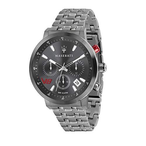 Reloj para Hombre, Colección GT, Movimiento de Cuarzo, cronógrafo, en Acero y PVD Gris - R8873134001