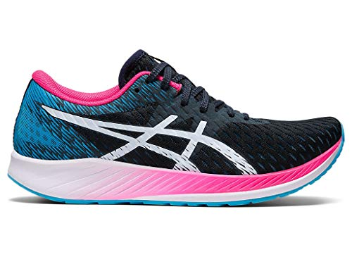ASICS Women's Hyper Speed Running Shoes, 6M, French Blue/White