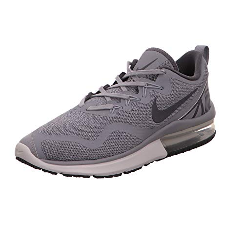 Nike Mens Air Max Fury Fabric Low Top Lace Up Running & Cross