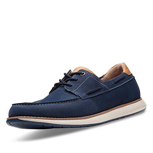 Clarks Men's Un Pilot Lace Low-Top Sneakers, Navy, 44.5 EU