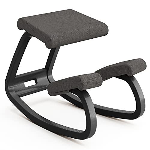 Variable Balans, butaca Original diseñada por Peter Opsvik - Negro/Gris