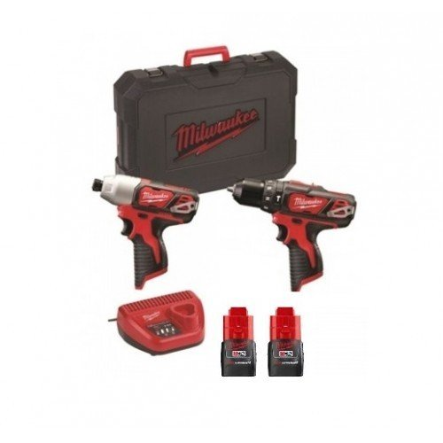 Milwaukee M12 BPP2F-152C | Kit 12V Trapano+Avvitatore