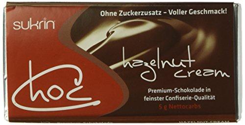 "SUKRIN Schokolade ""Choc hazelnut-cream"" (1 x 60 g)"