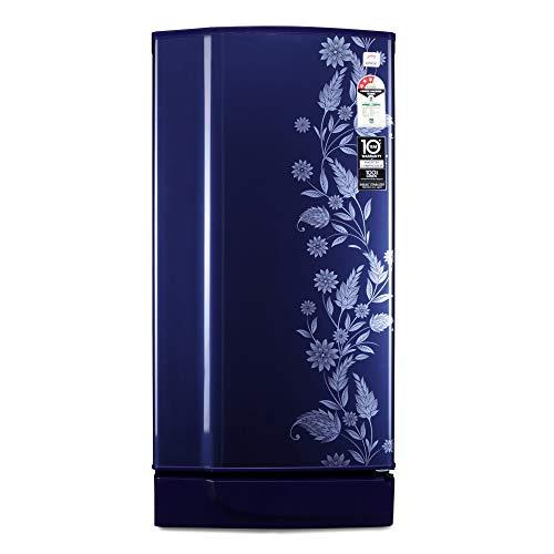 Godrej 190 L 3 Star Inverter Direct-Cool Single Door Refrigerator (RD 1903 PTI 33 DR BL, Royal Drenim, Inverter Compressor)