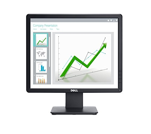 Dell E1715S E Series 17'' LED-Backlit LCD Monitor, Black
