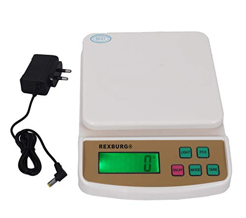 REXBURG® Electronic Kitchen Digital Weighing Scale with...