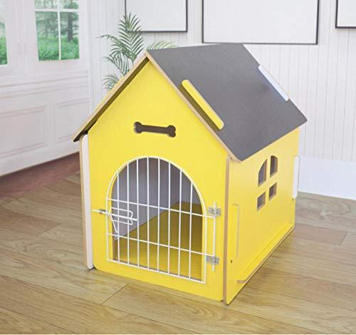 Dierbenodigdheden kennel klein huisdier huis houten hondenmand kennel luxe outdoor hondenhuis huishoudelijke goederen