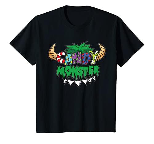 Nios Candy Monster - Disfraz infantil San Martn Halloween Camiseta