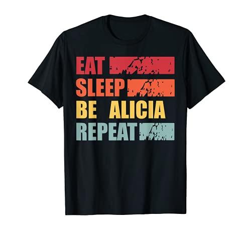 ALICIA - Camisa con nombre personalizado ALICIA Camiseta