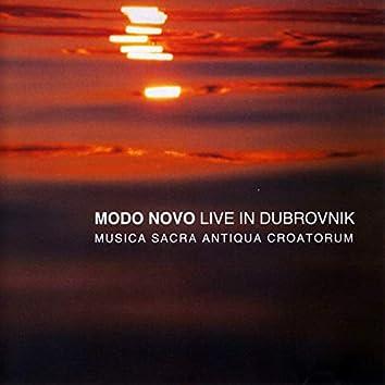 Musica Sacra Aniqua Croatorum (Live In Dubrovnik)