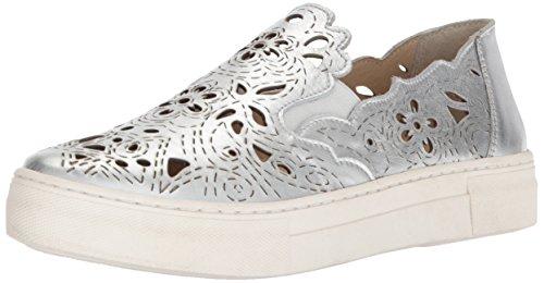 Seychelles Women's Even Better Sneaker, Silver, 9.5 M US