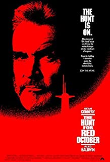 The Hunt for Red October - 1990 - Movie Poster