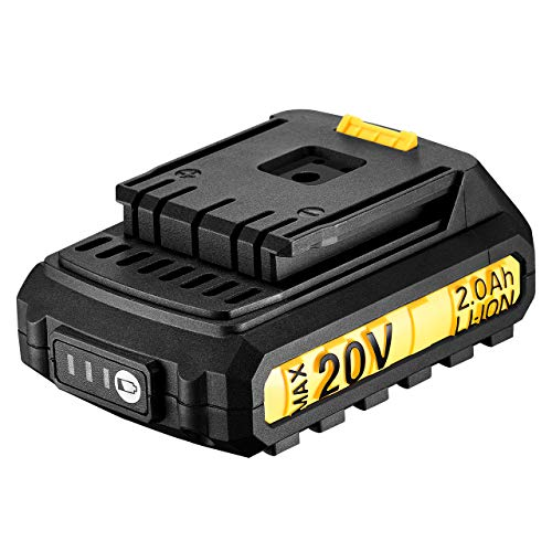Akku 20V für Holife Akkuschrauber, 2000mAh Ersatz-Akku für Akku-Bohrschrauber