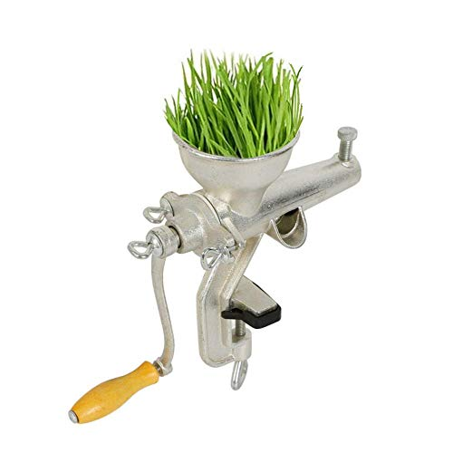 Juicer Machine, Wheat Grass Manual Squeezer Extractor Juicer Healthy Handcrank Juicing Fruits Apples Pears Vegetables Cabbage Celery Wheat Grass