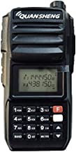 QuanSheng TG-UV2 Plus UHF/VHF Dual Band 10 watt 200CH Long Range Handheld Radio Walkie Talkie