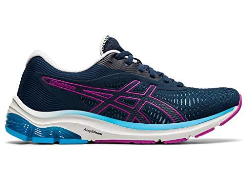 ASICS Women's Gel-Pulse 12 Running Shoes, 10M, French Blue/Digital Grape