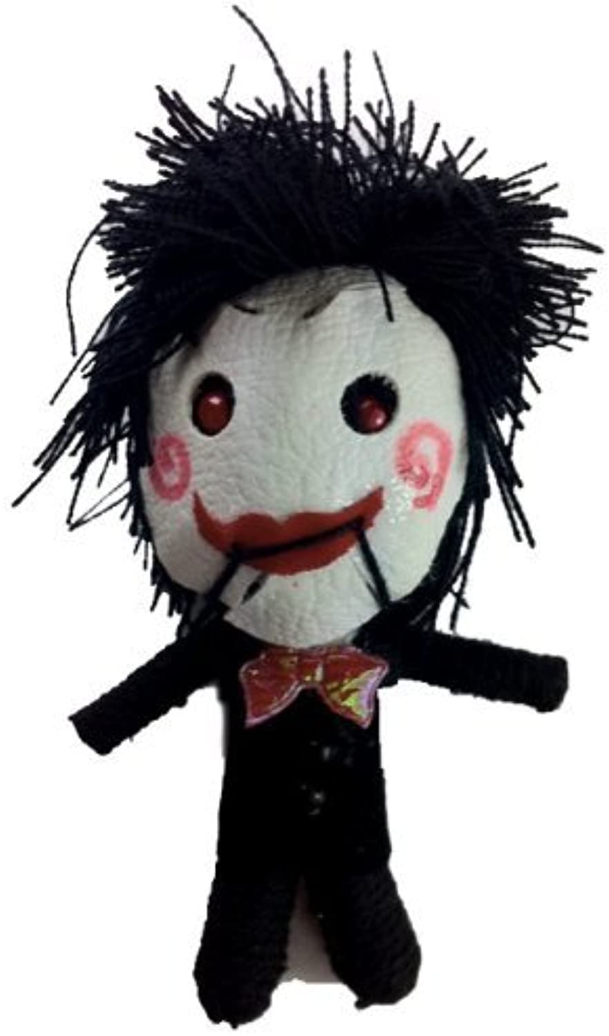 Billy Saw Puppet Voodoo String Doll Keychain