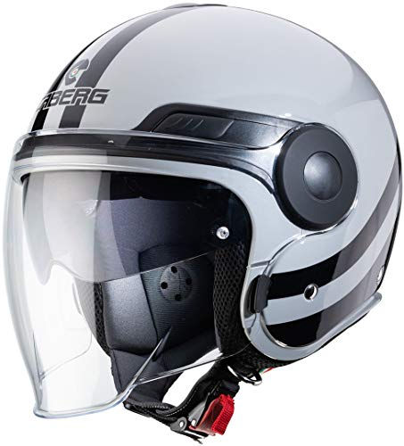 Caberg CASCO UPTOWN CHRONO LIGHT GREY/BLACK M
