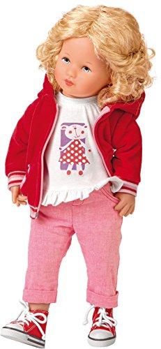 Käthe Kruse 42603 - Glückskind Paulina, rot/rosa
