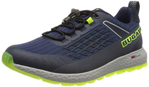 bugatti Herren 342589116900 Sneaker, Blau, 42 EU