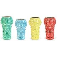4-Count Geeki Tikis The Golden Girls Ceramic Mugs