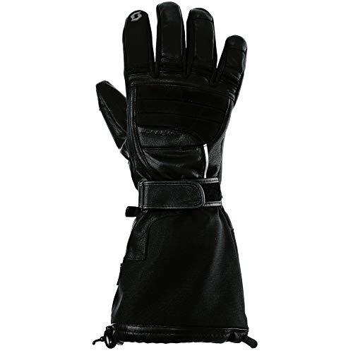 Scott Glove Tundra II Leather Noir M