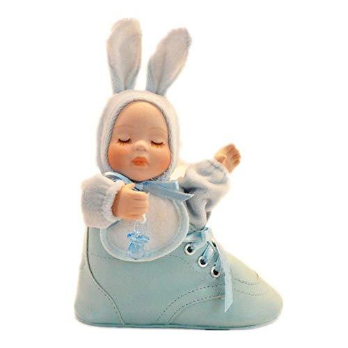 DJY-JY Zapatos Cochecito Conejito Music Box Music Box Regalo de cumpleaños Crafts (Color: Color del Cuadro, Tamaño: 12.5X12X5CM)