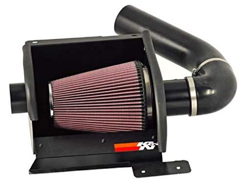 K&N 772570KTK 77 Series Textured Black High-Flow Intake Kit