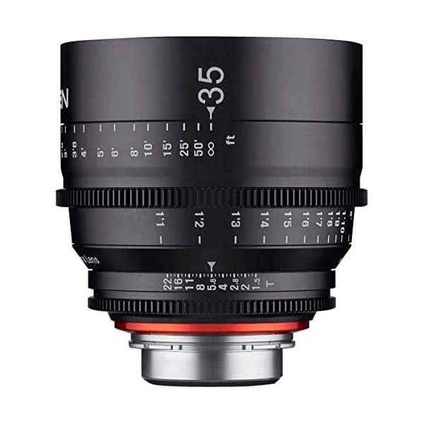 RetinaPix Samyang XEEN 35mm T1.5 Professional Cinema Lens for Sony E Mount