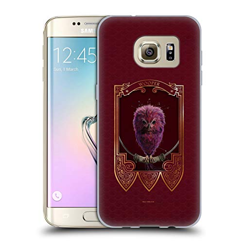 Head Case Designs Offizielle Fantastic Beasts and Where to Find Them Wooper Tiere Soft Gel Handyhülle Hülle Huelle kompatibel mit Samsung Galaxy S7 Edge