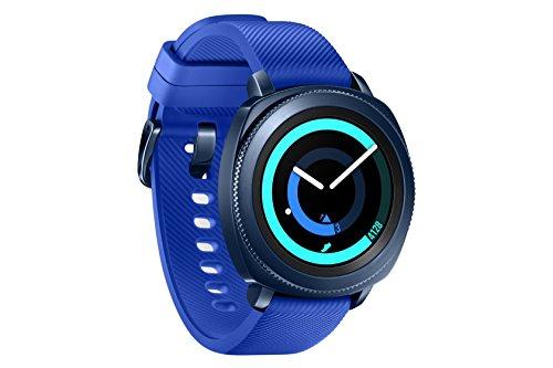 "Samsung Gear Sport smartwatch Blu SAMOLED 3,05 cm (1.2"") GPS (satellitare) [Versione Spagnola]"
