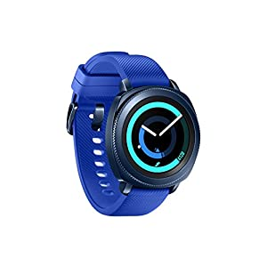 "Samsung Gear Sport - Smartwatch, Tizen, 768 MB de RAM, memoria interna de 4 GB, color azul, 1.2""- Version española 5"