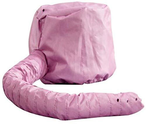 Haar Droger Bonnet Hood, Zachte Bonnet Hooded Haar Droger Zachte Bonnet Hooded Haar Droger Bevestiging voor Natuurlijke Krullend Getextureerde Haarverzorging voor Haar Drogen Styling roze
