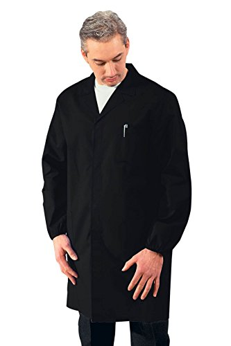 Robinson, camice da lavoro, colore nero, da uomo nero XXL
