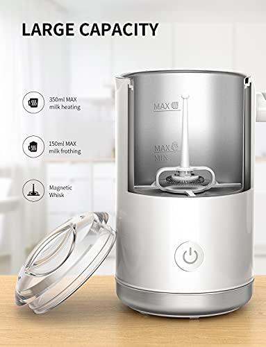 SHARDOR Batidoras espumadoras de leche automáticas