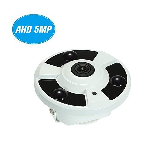 Bedler 5MP (1080P / 1440P / 1520P) AHD CVI TVI CVBS IR-Überwachungskamera 1.7mm Fisheye 180 ° Panorama VR-Kamera-Unterstützung IR-CUT Nachtsichtgerät 3pcs Array IR Leds Sicherheit zu Hause Überwachung