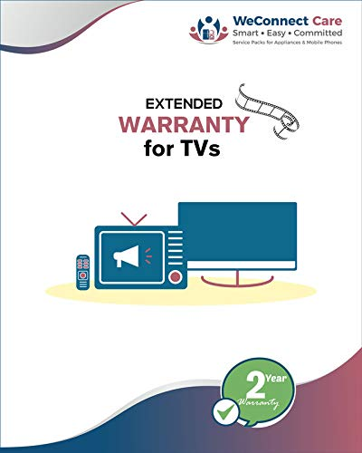 WeConnect Care - 2 Years Extended Warranty for Mi LED TVs 4A & 4X (40 inches & 43 inches) - E Mail...
