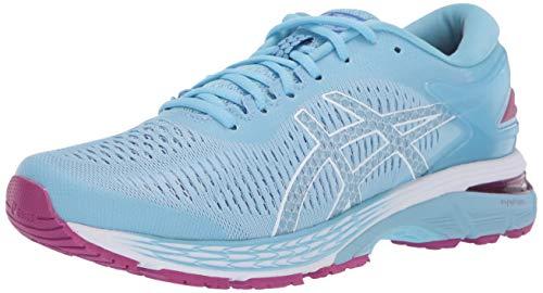 ASICS Women's Gel-Kayano 25 Running Shoes, 9M, Skylight/Illusion Blue