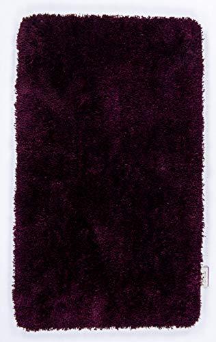 Badezimmerteppich | Badematte | Oekotex | Waschbar | 60 x 60 cm; Farbe: Aubergine | Tom Tailor - Soft Bath