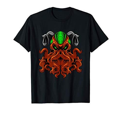 Release The Kraken Shirt Mythical Cthulhu Giant Octopus Gift Maglietta