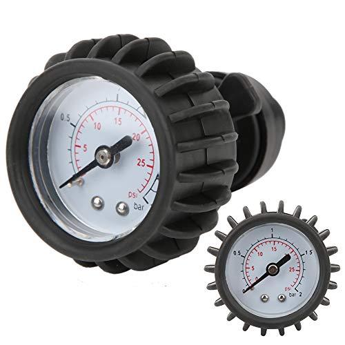 Barómetro para Bote de Goma, Conveniente Bomba Manual de PVC Barómetro para Bote Inflable de Alta confiabilidad, para Botes de Caucho Botes inflables