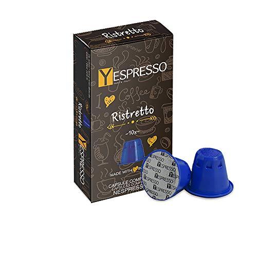 100 Capsule Nespresso compatibili (RISTRETTO)