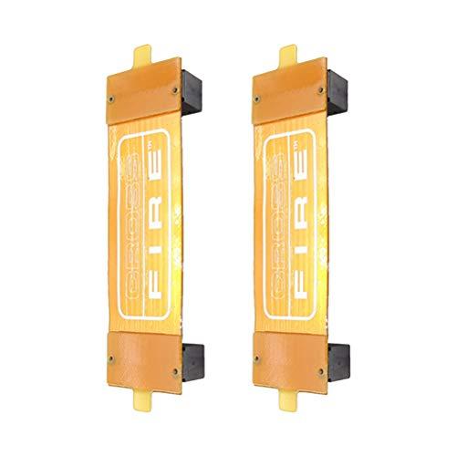 VHFIStj VGA-Karte SLI Crossfire-Kabel SLI Flexible Bridge Interconnect-Steckverbinder-Ersatz ASUS Nvidia