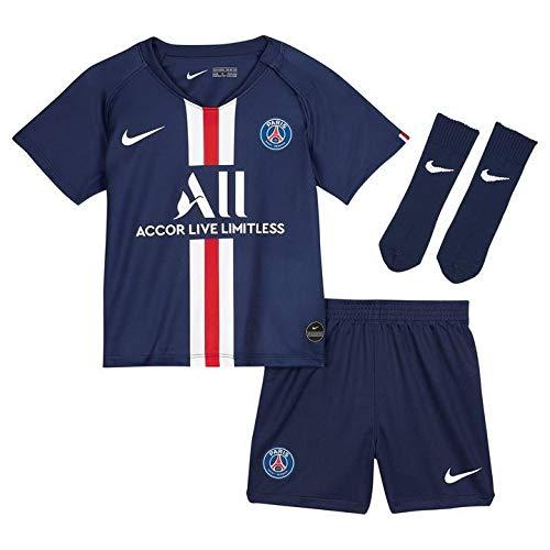 Nike PSG I Nk BRT Kit Hm Conjunto Deportivo, Unisex bebé, Midnight Navy/White, 24/36 Meses